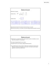 Lesson 21b - Determinants - Copy