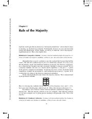 2. Rule of the Majority