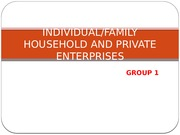 Chap 2Household Business and Private Enterpirse