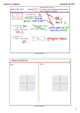 Congruence theorem notes
