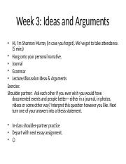eng comp ideas and arguments.ppt