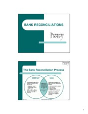 bank reconcilliation