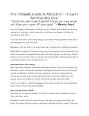 The Ultimate Guide to Motivation (1)