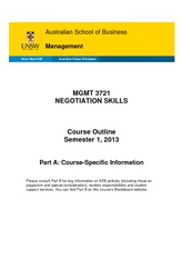 2013s1 course outline
