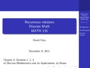 SLU MATH135 recursion