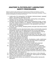 A and P Safety Affidavit