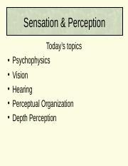 Monocular Depth Cues Monocular Depth Cues DONT Involve Both Eyes Monocular  Cues | Course Hero