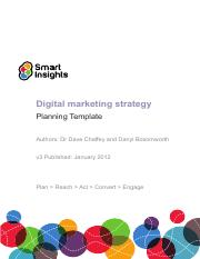 digital-marketing-strategy-planning-template