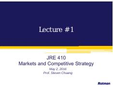 Lecture 1 - May 2 (BB)