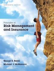 Principles of Risk Management book fin3310