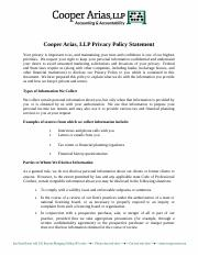 Privacy Policy for Website.doc