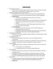 Chapt. 10 Outline
