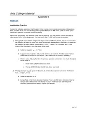 math 117 appendix c