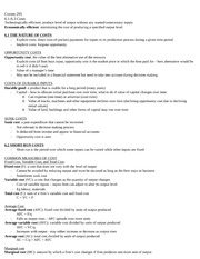 Comm 295 - Class 6 Notes
