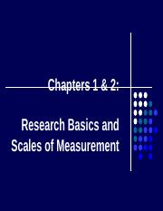 Ch 1&2 - Research Basics and Scales of Measurement.ppt