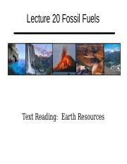 Lecture 20 Fossil Fuels Handout.pptx