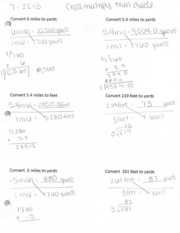 Concepts of Math Notes 11