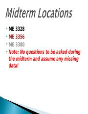 Midterm Locations.ppt