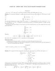Math16B - Spring 09 Final Review Answers