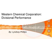 ACCT5401-Section1-Western Chemical