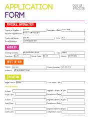 Unit3_ApplicationForm