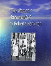 The+Women_s+Movement_s_.ppt