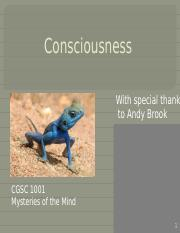6 - July 14 - 1 - Consciousness(2)
