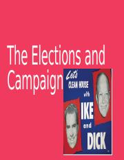 The Elections and Campaigns.pptx