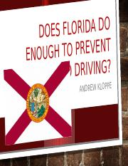 Does Florida do enough to prevent distracted driving.pptx