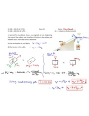 CE 2080 Exam Two Solutions Spring 2014 1