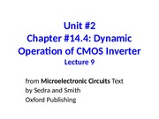 Unit 2 Lecture 9 Dynamic Operation of CMOS Inverter (1).ppt