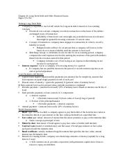 Chapter 21 Long-Term Debt and Other Financial Issues.docx