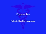 Private Health Insurance 2007