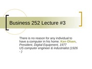 Business 252 3