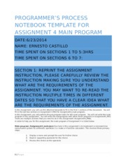 CommentRevisedTemplate_Assignment4_Programmer_Note_Book