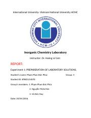 IC Lab report