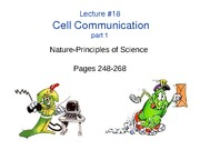BB_LECTURE-18_Cell Communication-Part1