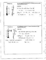 1201_Mechanics Homework Mechanics of Materials Solution