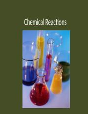 Types of Chemical Reactions POGIL - Types of Chemical ...