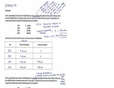 Chapter 13 - ANSWERS to Examples of Dividend Distribution Problem