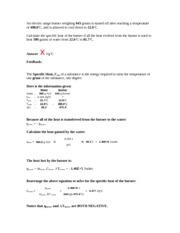 Calorimetry hw2