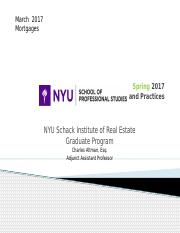 NYU Legal - Mortgage Lending - Spring 2017.pptx
