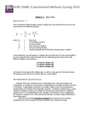 BME 310 2014 Module 1 Darcy Flow Instructions 1-28 (2)