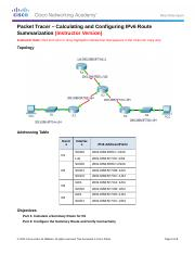 6.4.2.4 Calculating and Configuring an IPv6 Route Summarization Instructions - IG.docx