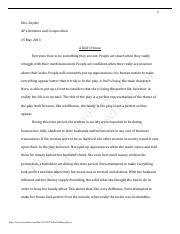 D sonoqua essay