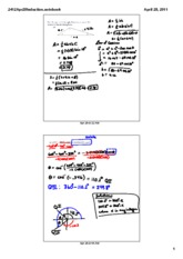 M2412 Lecture note 2