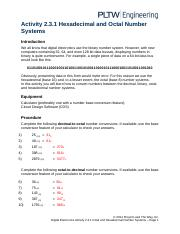 2.3.1.A HexadecimalOctalNumberSystems
