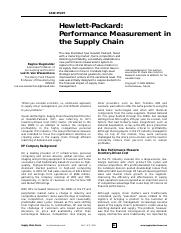 HP Performance Measurement in the Supply Chain.pdf