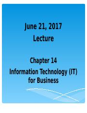 BA101 -  Information and Tech. (E-Business).ppt