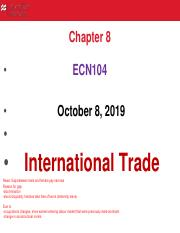 Lecture 6 International Trade (Ch 8).pdf